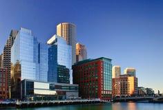 波士顿通道堡垒点 免版税图库摄影