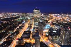 波士顿都市风景 免版税库存照片