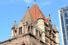 波士顿领港教会,美国 免版税库存照片