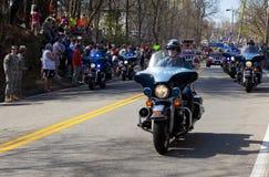 波士顿马拉松 免版税图库摄影