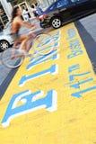 波士顿马拉松 免版税库存照片