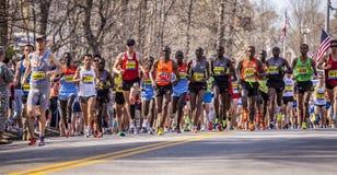 波士顿马拉松2012年 免版税库存照片