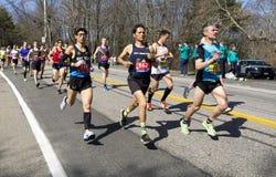 波士顿马拉松2016年 图库摄影