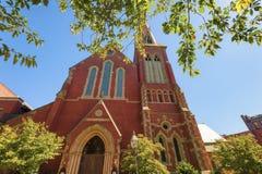 波士顿马萨诸塞出现教会 库存照片