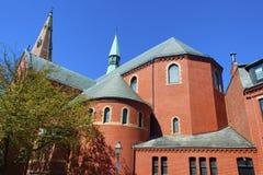 波士顿马萨诸塞出现教会 图库摄影