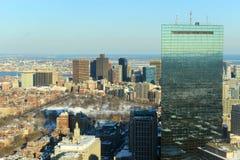 波士顿马萨诸塞地平线美国 库存图片