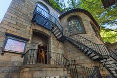 波士顿马萨诸塞Chapel国王 免版税库存照片