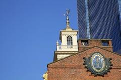 波士顿,美国老状态议院  库存图片