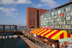 波士顿,马萨诸塞,美国- 7月15,2016 :著名餐馆B 免版税库存照片