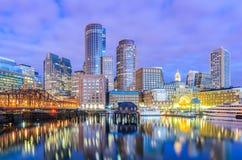 波士顿,马萨诸塞,美国 免版税图库摄影