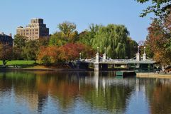 波士顿, MA公园 图库摄影