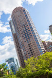 波士顿财务地区 免版税库存照片