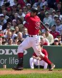 波士顿贾森・ Red Sox varitek 免版税库存图片