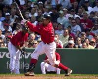 波士顿贾森・ Red Sox varitek 库存照片