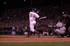 波士顿贾森・ Red Sox varitek 库存图片