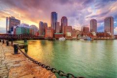 波士顿 库存照片
