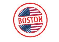 波士顿 库存例证