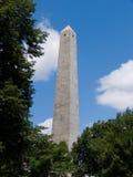 波士顿Bunker Hill纪念美国 库存照片