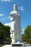 波士顿Colombus公众雕象 图库摄影