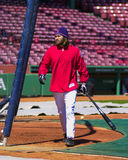 波士顿damon约翰尼・ Red Sox 免版税图库摄影