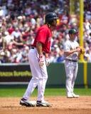 波士顿damon约翰尼・ Red Sox 免版税库存照片