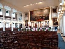 波士顿faneuil大厅 库存图片