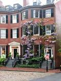 波士顿louisburg正方形 库存照片