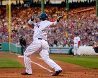 波士顿manny拉米雷斯・ Red Sox 图库摄影