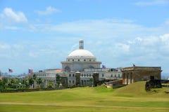 波多黎各国会大厦,圣胡安,波多黎各 免版税库存图片