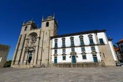 波尔图大教堂,波尔图,葡萄牙 免版税库存照片