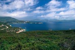 波尔图孔特地方自然公园 意大利海岸 库存照片