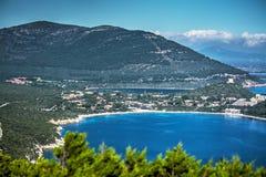 波尔图孔特海湾在撒丁岛 库存照片