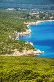 波尔图孔特海湾在撒丁岛 免版税库存照片