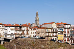 波尔图市地平线在葡萄牙 库存照片