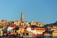 波尔图市的看法,葡萄牙 免版税库存图片
