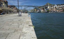 波尔图杜罗河 库存照片