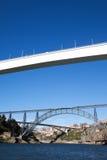 波尔图桥梁,葡萄牙 库存照片