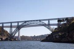 波尔图桥梁,葡萄牙 免版税库存照片