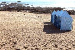 波尔图海滩, Gondarem斑点,葡萄牙 库存照片