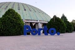 波尔图签到水晶宫帕拉西奥De克里斯特尔的庭院 库存图片