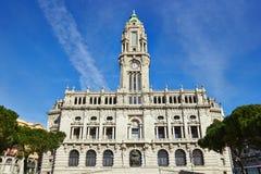 波尔图老市政厅  免版税库存图片