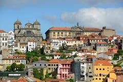 波尔图老市,葡萄牙 库存图片