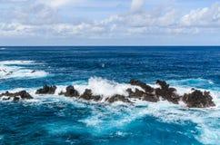 波尔图莫尼兹岩石 免版税图库摄影