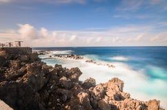 波尔图莫尼兹岩石 免版税库存照片