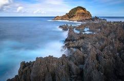 波尔图莫尼兹岩石 库存图片
