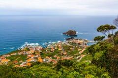 波尔图莫尼兹,马德拉岛 免版税库存照片