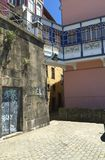 波尔图葡萄牙街道在夏天 库存图片