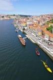 波尔图葡萄牙风景视图 免版税库存图片