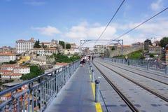波尔图葡萄牙风景视图 免版税库存照片