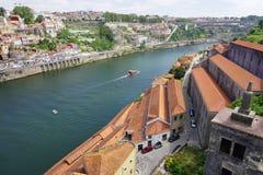 波尔图葡萄牙风景视图 免版税图库摄影